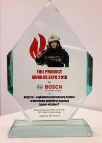 SystemwykrywaniapożaruAVIOTECfirmyBoschnagrodzonynaKongresiePożarnictwa