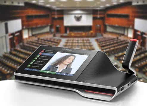 NajnowocześniejszymultimedialnysystemkonferencyjnyBoschwparlamenciewIndonezji