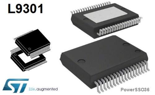 L9301–8kanałowydriversterowanyprzezSPI